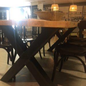 Industriële tafel Metz