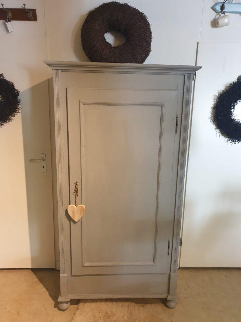 Brocante 1 deurs kast France (hang / leg)