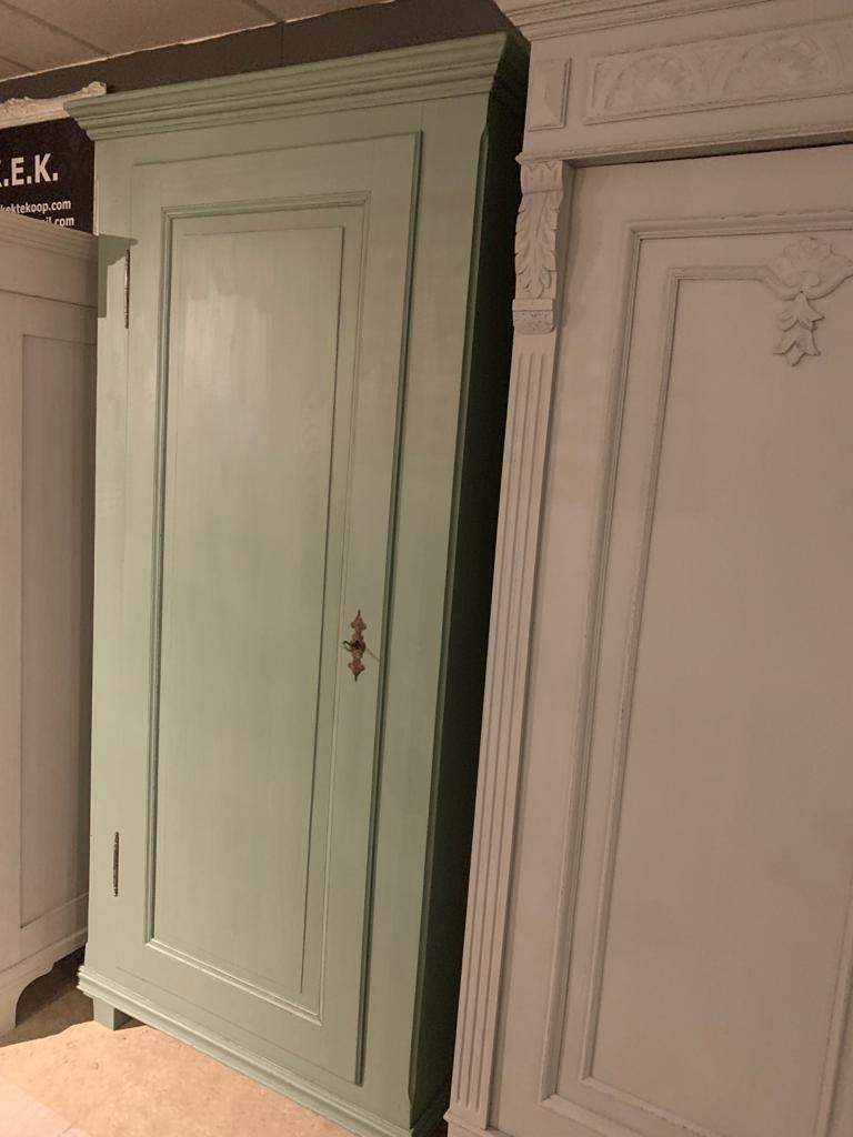Brocante 1 deur kast Vert